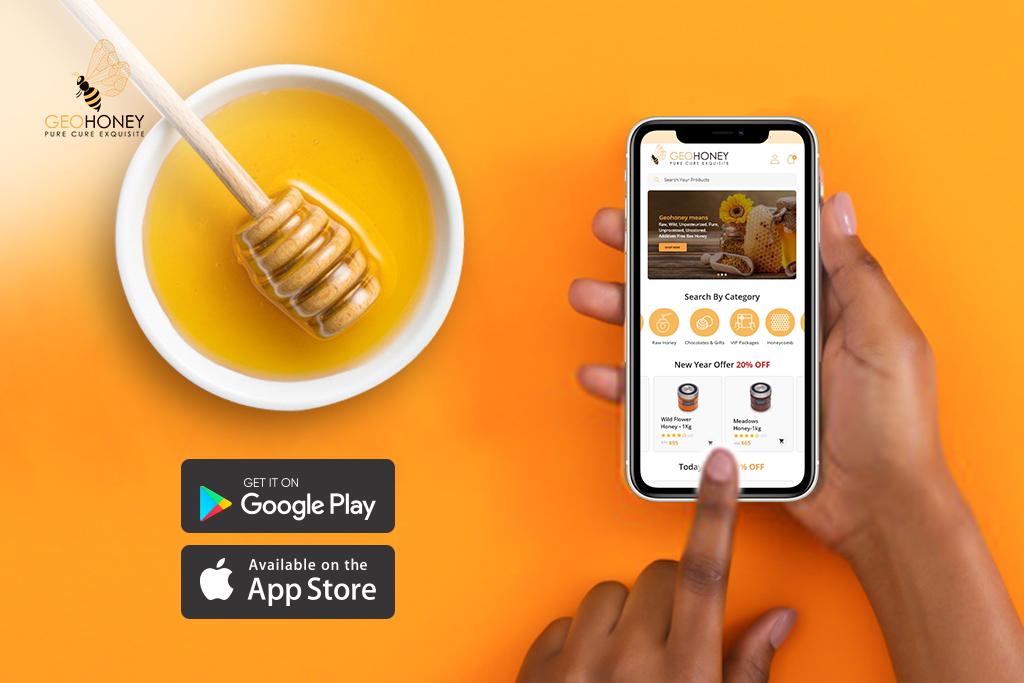 geohoney app launch