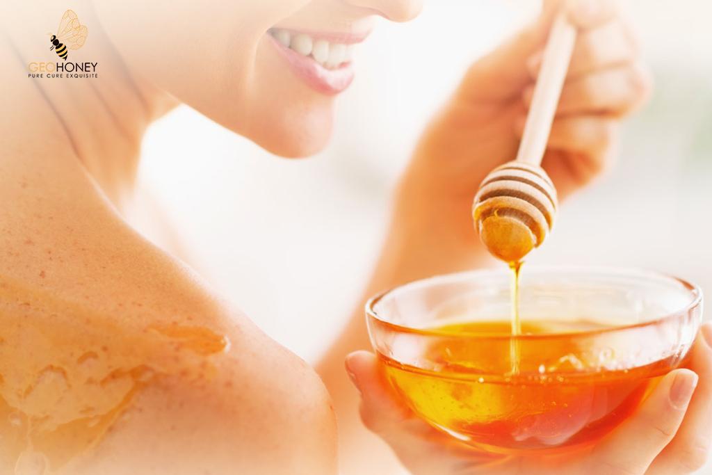 organic honey - skin care